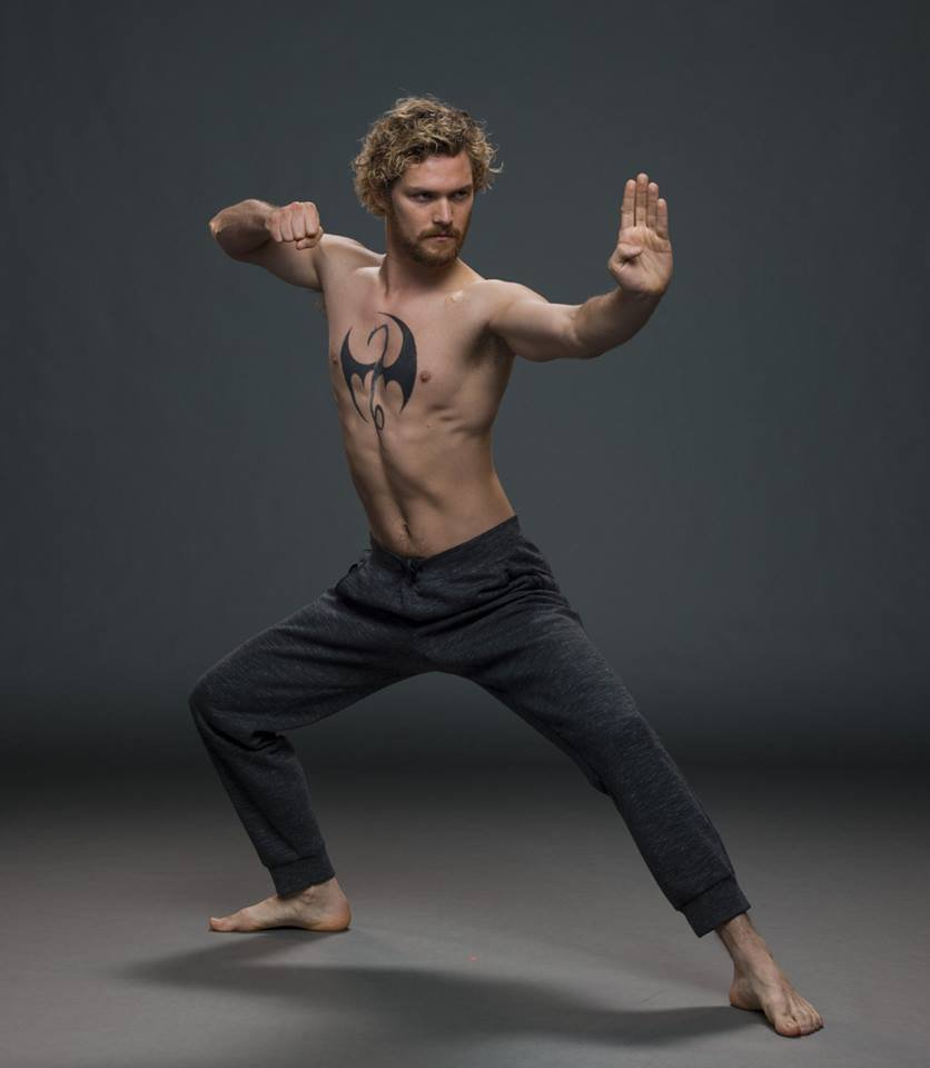 Finn Jones as Danny Rand (Marvel's Iron Fist)