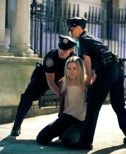 Trish Under Arrest